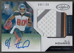 2017  Certified O.J. Howard