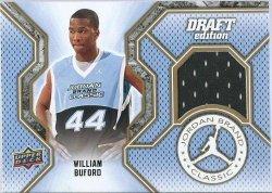 2009 Upper Deck Draft edition William Buford Jordan brand classic