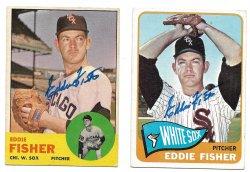 1963 Topps & 1965 Topps TTM Eddie Fisher 3/3/21