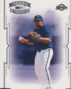 2005 Topps Throwback Threads Prince Fielder RC