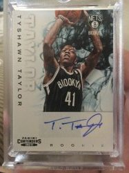 2012-13 Panini Contneders Tyshawn Taylor Rookie Auto