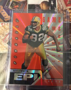 1997  Pinnacle Certified Epix Game Reggie White