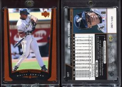 1999   Upper Deck Exclusives Level 1 Frank Thomas