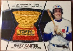 2014 Topps All Star Rookie Team Cup Patch Gary Carter