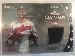 2018 Topps Update Silver Yan Gomes