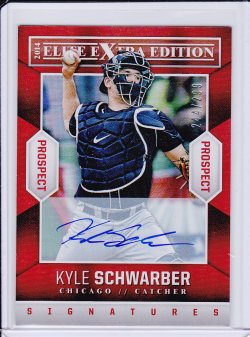Kyle Schwarber 2014 Elite Extra Edition Signatures /299
