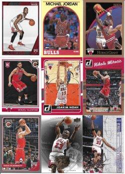 Assorted Bulls Cards 1