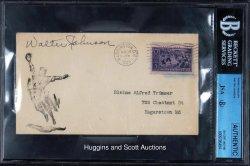 1939  Envelope Walter Johnson