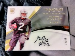 2017 Panini Immaculate Collection  Gareon Conley Rookie Autographs