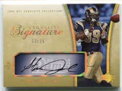 2005 Upper Deck Exquisite Collection Steven Jackson Signature Collection