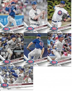 2017 Topps Series 2 Cubs
