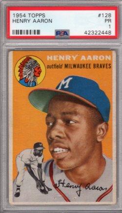 1954 Topps Topps Henry Aaron