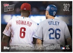 2016 Topps Now Chase Utley