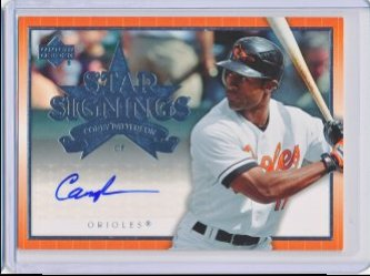 Corey Patterson 2007 Upper Deck Star Signings