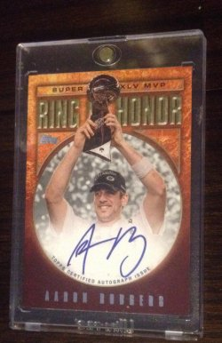 2011 Topps Ring of Honor Aaron Rodgers Auto