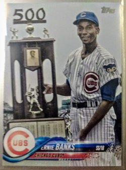 2018 Topps Legend Photo Variation Ernie Banks