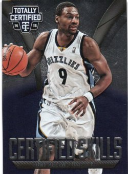 2014-15 Panini Totally Certified Allen, Tony -  Certified Skills