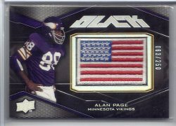 2009 Upper Deck Black  Alan Page