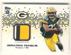 2013 Topps  #RP-JF Johnathan Franklin Patch Relic