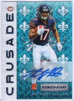 2018 Panini Rookies and Stars Anthony Miller Crusade Signatures