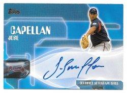 2005 Topps Topps Autographs Jose Capellan