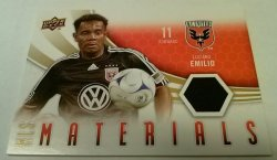 2010 Upper Deck MLS Materials Luciano Emilio