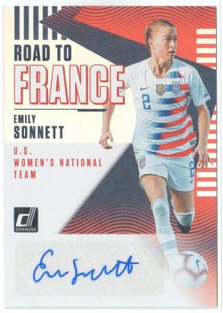 2019 Donruss Road to France Autographs Emily Sonnett
