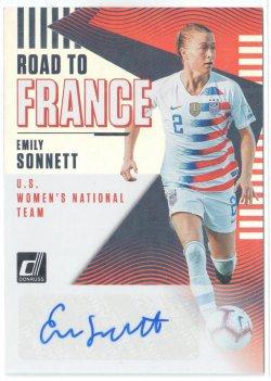 2019 Donruss Road to France Autographs Emily Sonnett