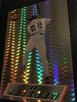 1995  Pacific MLB BO JACKSON  #20  Angels/WhiteSox/Royals AllStar OF  NFL Pro Bowl RB