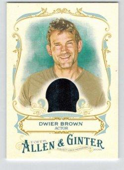 2016 Topps Allen & Ginter Relic (Full Size) Dwier Brown