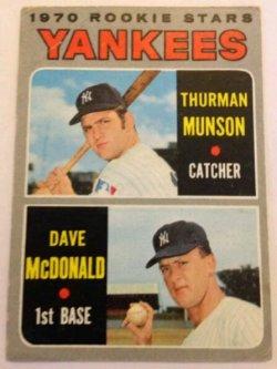 1970 Topps  Thurman Munson