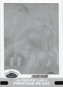 2007-08 Topps Stadium Club Conley, Mike - Press Plates Black