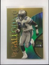1999 Skybox E-X Century Essential Credentials Future #41 Joey Galloway