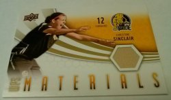 2010 Upper Deck WPS Materials Christine Sinclair