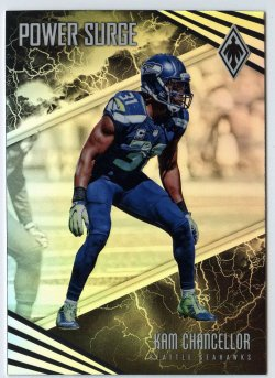 2017 Panini Power Surge Kam Chancellor