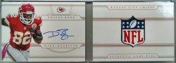 2013 Panini National Treasures Dwayne Bowe NT prime booklet NFL shield red 1/1