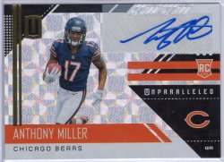 2018 Panini Unparalleled Anthony Miller Rookie Signatures Hyper