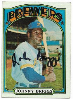 1972   TTM Johnny Briggs 11/16/18