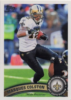 2011 Topps  Marques Colston