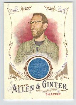 2016 Topps Allen & Ginter Relic (Full Size) Ari Shaffer