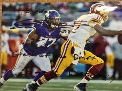 Everson Griffen Signed 8x10