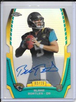 2014 Topps Chrome Rookie Die Cut Autograph - Blake Bortles