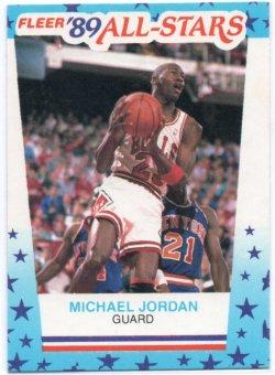 1989-90 Fleer  Jordan, Michael - Stickers