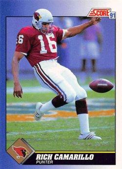1991  Score Rich Camarillo