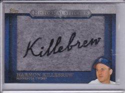 Harmon Killebrew 2012 Topps Historical Stitches