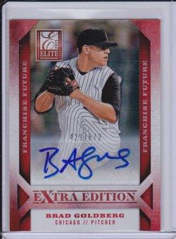 Brad Goldberg 2013 Elite Extra Edition Franchise Future Signatures /672