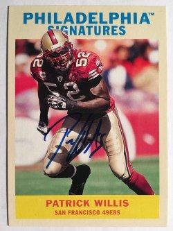 2009 Topps Philadelphia  Signatures #PSPW Patrick Willis