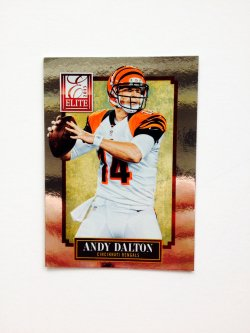 2013 Panini Elite Andy Dalton