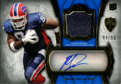 2011 Playoff Supreme Auto Jersey Marcell Dareus Rookie