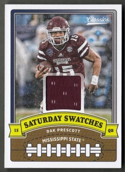 2018  Classics Saturday Swatches Dak Prescott
